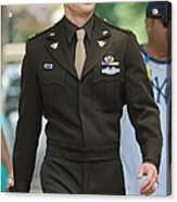 Chris Evans On Location For The Acrylic Print