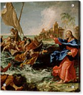Christ At The Sea Of Galilee Acrylic Print