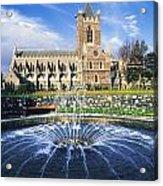Christ Church Cathedral, Synod Hall Acrylic Print