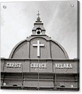 Christ Church In Melaka In Malaysia Acrylic Print