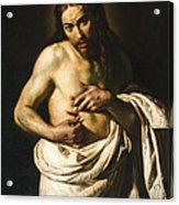 Christ Displaying His Wounds Acrylic Print