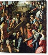 Christ Falls On The Way To Calvary Acrylic Print