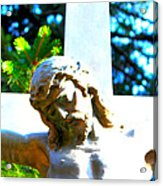 Christ In Spring Acrylic Print