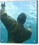 Christ Of The Abyss Acrylic Print