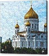 Christ The Savior Cathedral Acrylic Print
