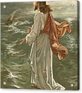 Christ Walking On The Waters Acrylic Print
