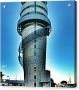 Christchurch Airport's Control Tower Acrylic Print
