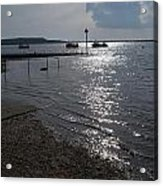 Christchurch Harbour Viewed From Mudeford Acrylic Print