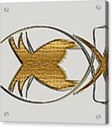 Christian Fish Acrylic Print