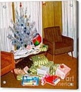 Christmas 1969 Acrylic Print