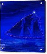 Christmas At Sea Acrylic Print