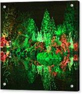 Christmas Fantasyland Acrylic Print