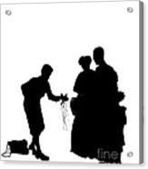 Christmas Gift - A Silhouette 1a Acrylic Print