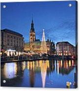 Christmas In Hamburg Acrylic Print
