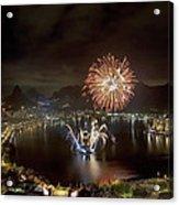 Christmas In Rio 2 Acrylic Print