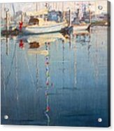 Christmas On The Water Acrylic Print