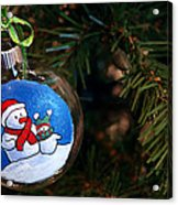 Christmas Ornament Acrylic Print