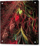 Christmas Tree 72 Acrylic Print