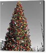 Christmas Tree At Pier 39 Acrylic Print