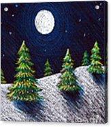 Christmas Trees II Acrylic Print