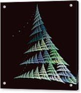 Christmas Trees Acrylic Print