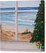 Christmas Window Acrylic Print