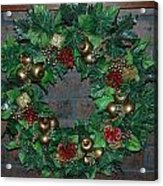Christmas Wreath Acrylic Print