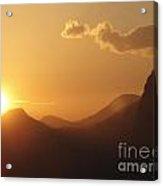 Christo At Sunset Acrylic Print