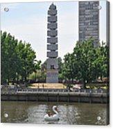 Christopher Columbus Memorial - Philadelphia Acrylic Print