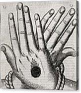 Christ's Stigmata, 17th Century Acrylic Print