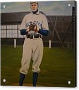 Christy Mathewson Acrylic Print by Mark Haley