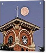 Church Bell Tower Acrylic Print