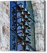 Church Bells Acrylic Print by Shirley Mitchell