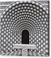 Church Chapel Made In Stone Acrylic Print