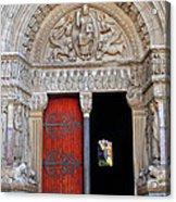 Church Entrance Arles France Acrylic Print
