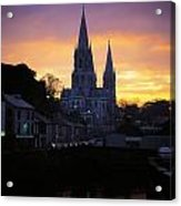 Church In A Town, Ireland Acrylic Print