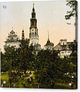 Church In Czestochowa - Poland - Ca 1900 Acrylic Print