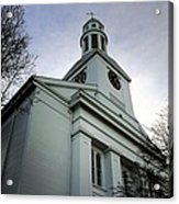 Church In Perspective Acrylic Print