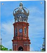 Church In Puerto Vallarta Acrylic Print
