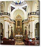 Church Interior In Puerto Vallarta Acrylic Print