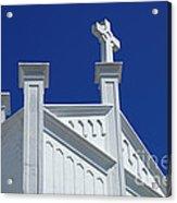 Church Key West Florida Acrylic Print