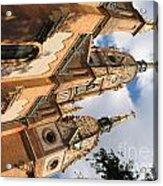 Church Acrylic Print by Odon Czintos