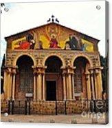 Church Of All Nations  Acrylic Print