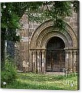 Church Of Bredons.cantal. France Acrylic Print