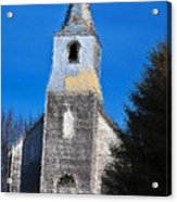 Church Of Days Gone By Acrylic Print