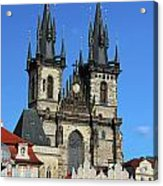 Church Of Our Lady Before Tyn Acrylic Print