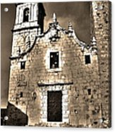 Church Of The Virgen De La Ermitana - Peniscola  Acrylic Print