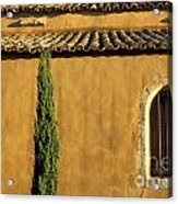 Church. Provence Acrylic Print by Bernard Jaubert