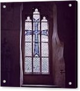 Church Stained Glass Window 2 Acrylic Print