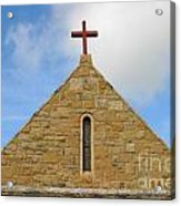 Church Top Acrylic Print